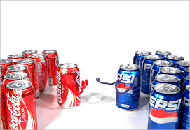 sự cạnh tranh giữa Coca Cola và Pepsi không ngừng tăng