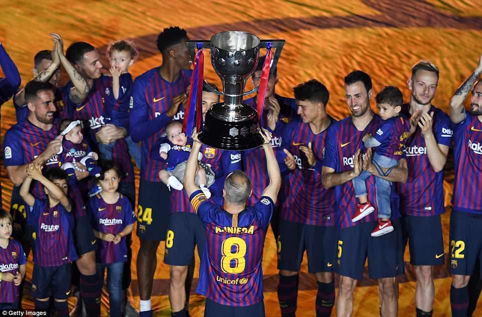 Kết quả Barca 1-0 Sociedad quà chia tay xứng đá