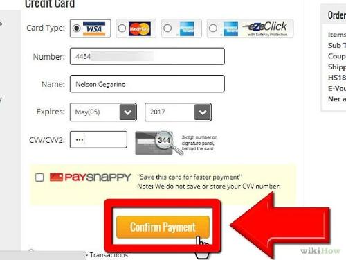 Thẻ Visa và Master card được sử dụng để mua hàng online nước ngoài.