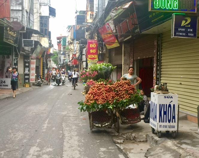30.000 đồng 1 kg vải thiều ở Hà Nội