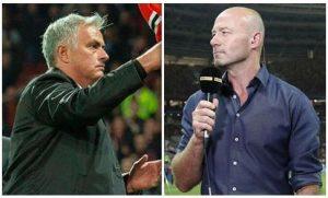 Alan Shearer phát biểu về Mourinho