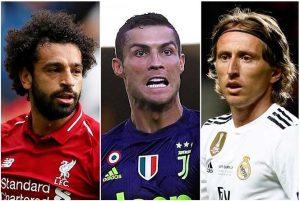 Salah - Ronaldo - Modric cạnh tranh giải The Best của FIFA