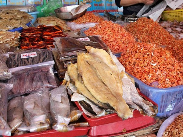kinh doanh hải sản khô