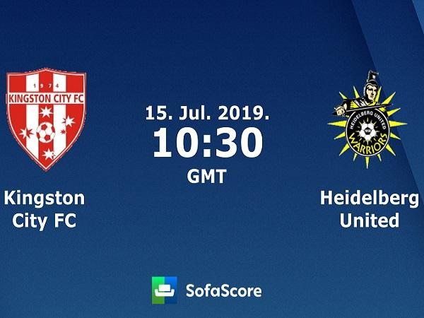 Nhận định Kingston City vs Heidelberg Uinited, 17h30 ngày 15/07