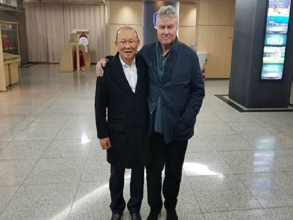 Thầy Park dẫn dắt U22 Việt Nam đấu U22 Trung Quốc