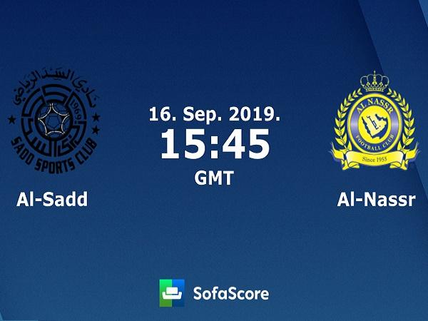 Nhận định kèo Al Sadd vs Al Nassr 22h45, 16/09 (AFC Champions League)