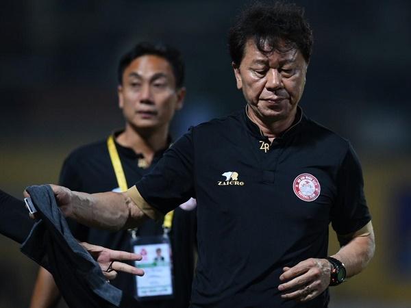 HLV Chung Hae Soung nhận lỗi sau trận thua Hà Nội