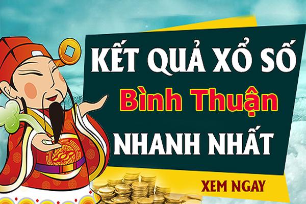 Soi cầu XS Bình Thuận chính xác thứ 5 ngày 03/10/2019