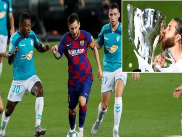 Tin bóng đá ngày 17/7: Messi nổi giận với đồng đội khi Real Madrid vô địch