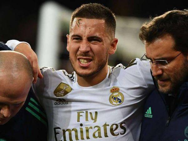 Hazard lại tái phát chấn thương Zidane lo lắng