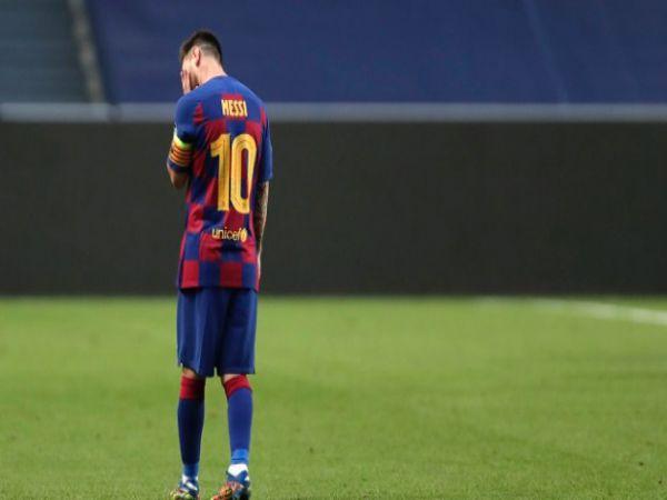 Tin bóng đá chiều 21/8: Messi nằng nặc đòi rời Barca