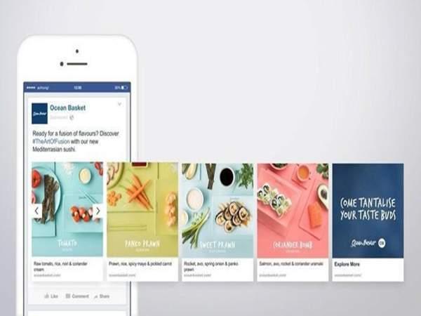 Carousel giúp doanh nghiệp truyền tải được nhiều nội dung đến với khách hàng hơn