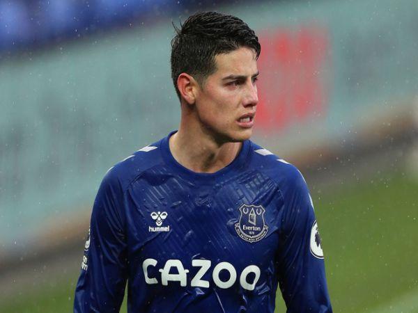 Tin bóng đá tối 25/5: CĐV Everton tức giận với James Rodriguez