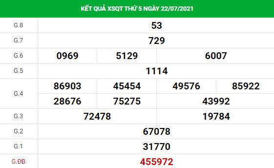 Thống kê soi cầu xổ số Quảng Trị ngày 29/7/2021 hôm nay