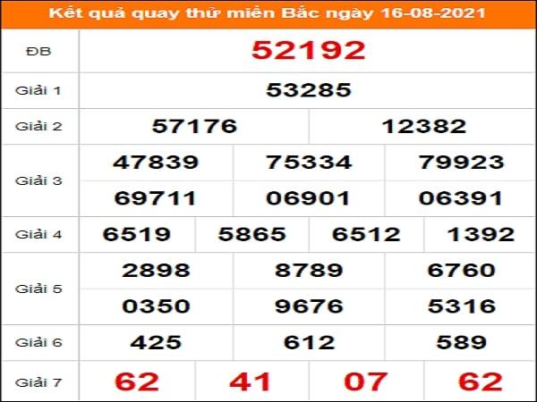🍀 Quay thử dự đoán KQXSMB 16/8/2021